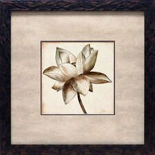 <strong>North American Art</strong> Sepia Lotus I Wall Art