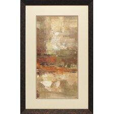 'Landing Panel II' by Silvia Vassileva Framed Painting Print