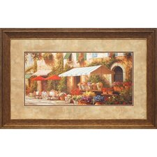 <strong>North American Art</strong> Village Florist Wall Art