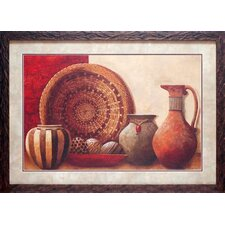 <strong>North American Art</strong> Basket and Vessels Wall Art