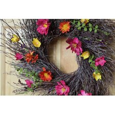 Summer Twig Wreath