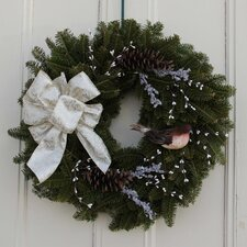 Seasons Winter Bird Wreath