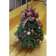 Jeweled Ribbon Tabletop Tree