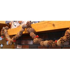 Rustic Real Pinecone Garland