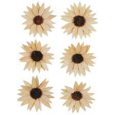 <strong>Oddity Inc.</strong> Palm Sunflowers (Set of 6)