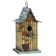 "<strong>Oddity Inc.</strong> 8.5"" x 6"" Hanging Birdhouse"