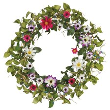 "18"" Daisy Wreath"