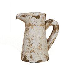 Crackle Ceramic Pitcher