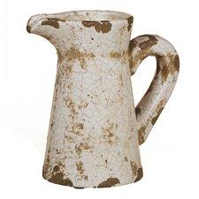 Crackle Pitcher Vase (Set of 2)