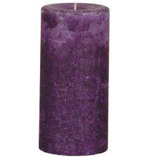 Weathered Wild Plum Pillar Candle