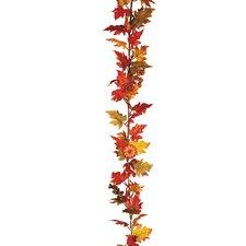 Maple Leaf Pumpkin Berry Garland