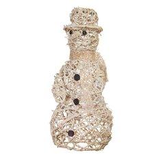Champagne Sparkle Vine Snowman