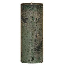 Weathered Woodland Pillar Candle