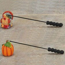 <strong>Oddity Inc.</strong> 2 Piece Thanksgiving Candle Snuffers Set