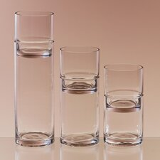3 Piece 2 Piece Glass Tealight Set