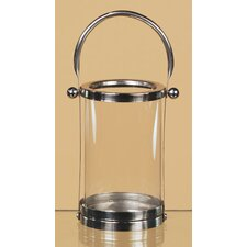 <strong>Oddity Inc.</strong> Chrome / Glass Lantern