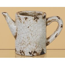 Crackle Ceramic Watering Can