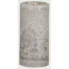 Weathered Serenity Pillar Candle