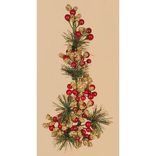 Cluster Berry Pine Candle Climber