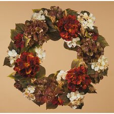 <strong>Oddity Inc.</strong> Fall Hydrangea Wreath