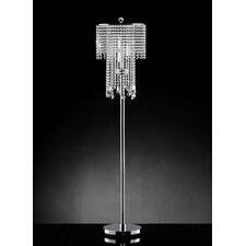 <strong>OK Lighting</strong> Rain Crystal Floor Lamp