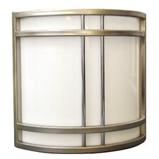 Biscayne 2 Light Radio City Outdoor Wall Sconce