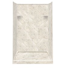 Solid Surface Three Panel Shower Wall Kit