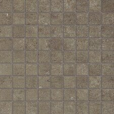 "<strong>Samson Tile</strong> Genesis Loft 12"" x 12"" Matte Mosaic Floor and Wall Tile in Atlantic"
