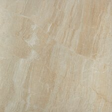 "<strong>Samson Tile</strong> Anthology 16.75"" x 16.75"" Matte Floor Tile in Beige (Box of 7)"
