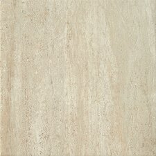 "<strong>Samson Tile</strong> Travertini 16.75"" x 16.75"" Floor and Wall Tile in Beige (Box of 7)"