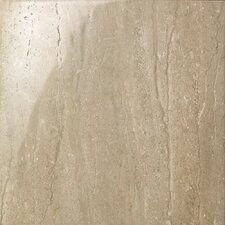 "<strong>Samson Tile</strong> Travertini 16.75"" x 16.75"" Floor and Wall Tile in Noce (Box of 7)"