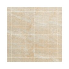 "<strong>Samson Tile</strong> Anthology 16.75"" x 16.75"" Mosaic Floor Tile in Beige"