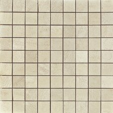 "<strong>Samson Tile</strong> Genesis 12"" x 12"" Matte Mosaic Floor and Wall Tile in Shell"