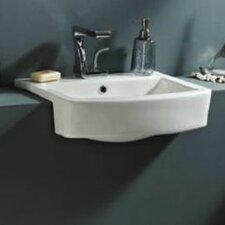 Megan Semi Recessed Basin