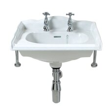 Balmoral Cloak Basin in White