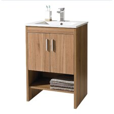 Ciro 60cm Basin and Base Unit in Marango
