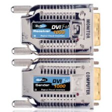 Fiber Optic Modules for Extending DVI Signals Up to 39600""