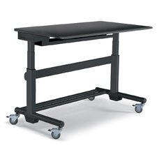 "MoveMore 60"" Computer Desk with Sitting and Standing Functionality"