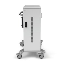 32-Compartment Big Case Tablet Charging Cart