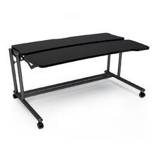 "Anthro Ergonomic Fit System Adjusta Sit / Stand 59.25"" W x 36.5"" D Workstation Table"