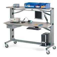 "Heavy-Duty 72"" W x 36"" D Work Table"