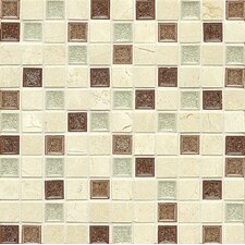 Stone Mosaic Blend Tile in Paradise