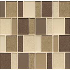 "<strong>Bedrosians</strong> 12"" x 12"" Mosaic Brick Pattern Bends Tile in Plaza"