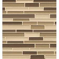 "<strong>Bedrosians</strong> 12"" x 13"" Mosaic Random Interlocking Blends Tile in Plaza"