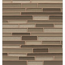 "<strong>Bedrosians</strong> 12"" x 13"" Mosaic Random Interlocking Blends Tile in Soho"