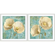 Spa Serenity 2 Piece Framed Painting Print Set