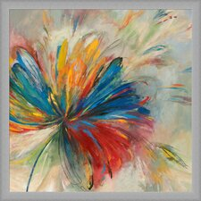 Vibrancy of Nature Framed Painting Print