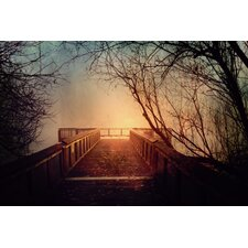 'End of the Dock' by Silvia Cook Photographic Print on Canvas