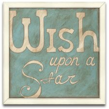 Wish Upon a Star Framed Graphic Art