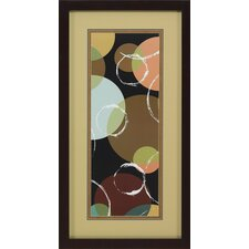 Mod Geometry I by John Butler Framed Graphic Art
